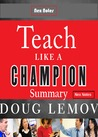Teach Like a Champion Summary
