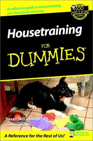 Housetraining for Dummies by Susan McCullough