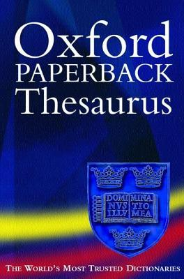 The Oxford Paperback Thesaurus by Maurice Waite