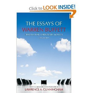 The Essays of Warren Buffett: Lessons for Corporate - Austin A Hay