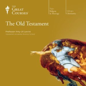 The Great Courses The Old Testament 4 DVDs 24 Lectures + Book Amy Jill Levine LN