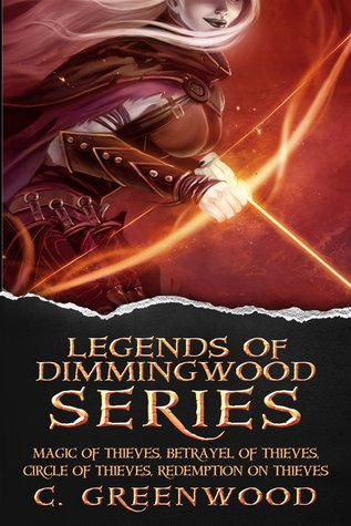 Legends of Dimmingwood Series, Books 1-3  by  C. Greenwood