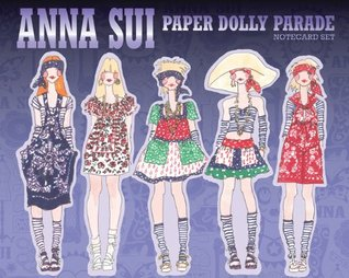 Anna Sui Paper Dolly Parade: Notecard Set