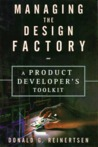 Managing The Design Factory:  A Product Developer's Toolkit