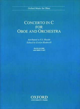 Concerto for Oboe and Orchestra: Reduction for Oboe and Piano