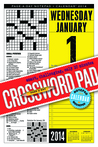 Crossword Page-a-Day Notepad and 2014 Calendar
