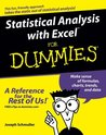 Statistical Analysis with Excel For Dummies (For Dummies (Math & Science))