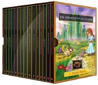 The Wizard of Oz 15 Book Collection by L. Frank Baum