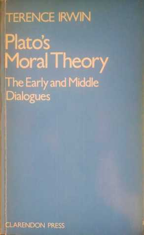 Read online Plato's Moral Theory: The Early And Middle Dialogues PDF