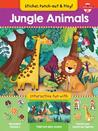 Jungle Animals: Interactive fun with fold-out play scene, reusable stickers, and punch-out, stand-up figures!