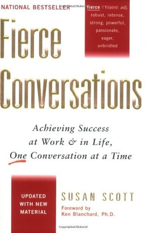 fierce conversations achieving success at work Fierce conversations: achieving success at work and in life one conversation at a time by susan scott(中古品-良い.