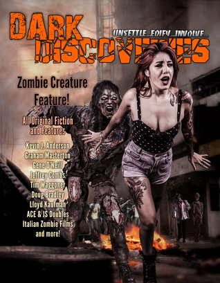 Dark Discoveries - Issue #28 by Jonathan Maberry