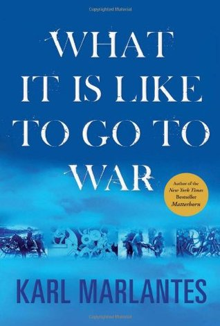 What It is Like to Go to War by Karl Marlantes