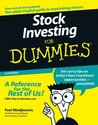 Stock Investing For Dummies (For Dummies (Lifestyles Paperback))