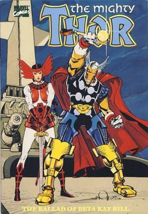 The Mighty Thor in The Ballad of Beta Ray Bill by Walter Simonson