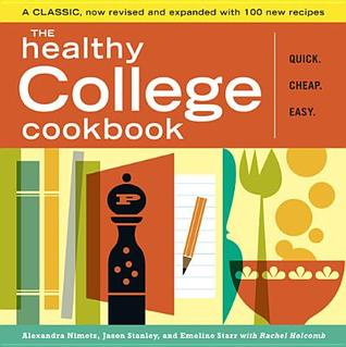 Download online for free The Healthy College Cookbook ePub