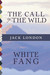 The Call of the Wild / White Fang (Illustrated) (Top Five Classics, #16)