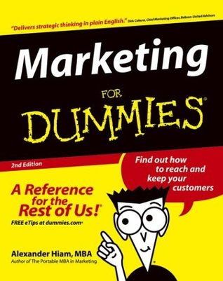 Marketing For Dummies  - Alexander Hiam