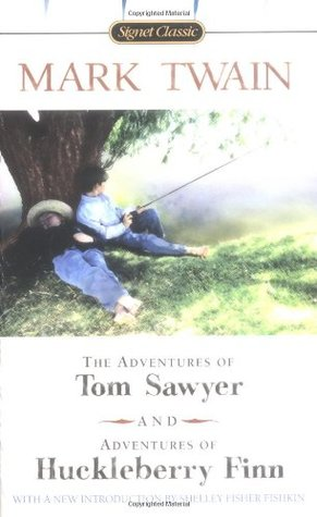 The Adventures of Tom Sawyer & Adventures of Huckleberry Finn by Mark Twain