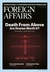 Foreign Affairs July / Augu...