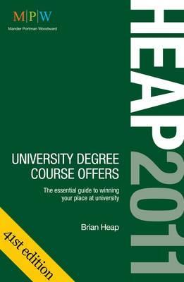 Heap 2011 University Degree Course Offers by Brian Heap