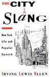 City in Slang: New York Life and Popular Speech (Revised)