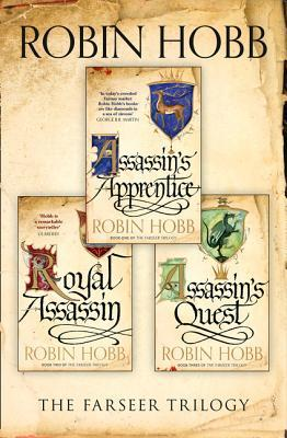 The Farseer Trilogy by Robin Hobb Books (Books #1-3)