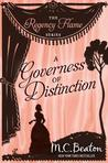 A Governess of Distinction by Marion Chesney