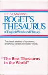 The St. Martin's Roget's Thesaurus of English Words and Phrases