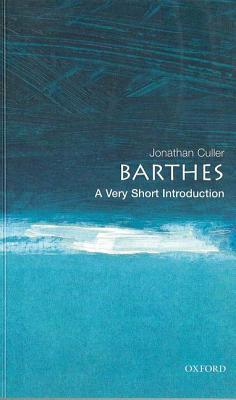 Barthes by Jonathan Culler