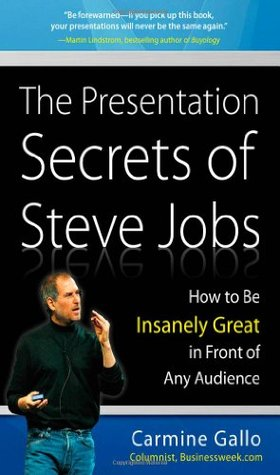 The Presentation Secrets of Steve Jobs by Carmine Gallo