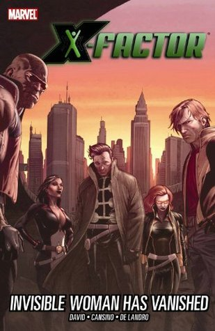 X-Factor: Invisible Girl Has Vanished Premiere HC
