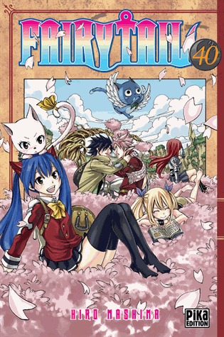 Fairy Tail, Tome 40 Fairy Tail 40