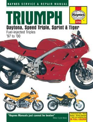 Triumph Daytona, Speed Triple, Sprint & Tiger: 885/955cc 97 to 05 John H Haynes
