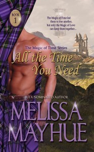 All the Time You Need (Magic of Time, #1)