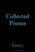 Collected Poems of John Keats