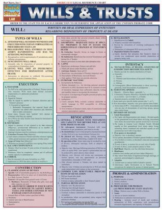 Wills And Trusts (Quickstudy: Law)
