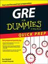 GRE for Dummies, Quick Prep Edition