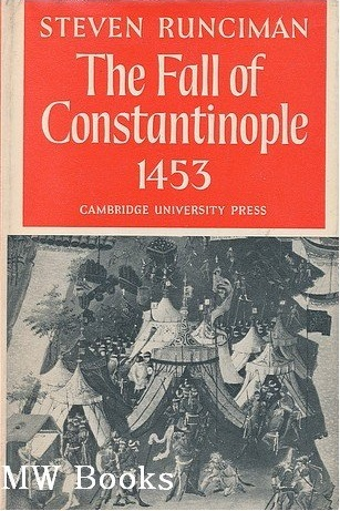 the fall of constantinople 1453 by steven runciman pdf