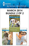 Harlequin Special Edition March 2014 - Bundle 2 of 2: The Daddy Secret\Finding Family...and Forever?\The One He's Been Looking for