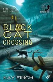 Black Cat Crossing  (A Bad Luck Cat Mystery #1)