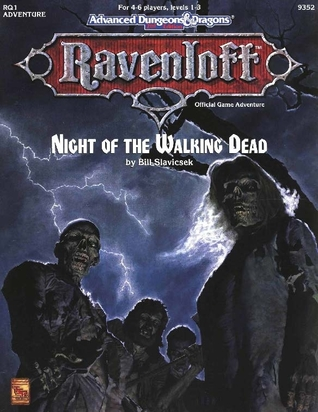 Night Of The Walking Dead ( Ravenloft RQ1: Advanced Dungeons & Dragons 2nd Edition: Grand Conjuction Series #1 )