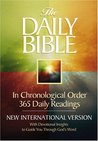 Daily Bible, with Devotional Insights to Guide You Through God's Word: NIV