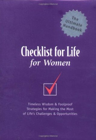 Checklist For Life For Women by Checklist for Life