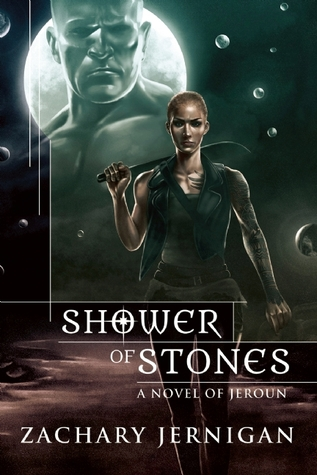 Shower of Stones (Jeroun #2) - Zachary Jernigan