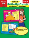 Activity Cards for Early Finishers: Math (Grs. 4-6)