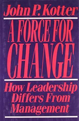 Force For Change by John P. Kotter