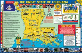 Louisiana Poster Map  by  Carole Marsh