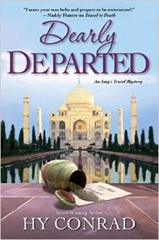 Dearly Departed (Amy's Travel Mystery, #2)