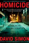 Homicide: A Year on the Killing Streets cover image